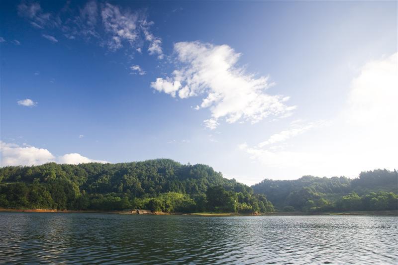庆元西溪水利风景区