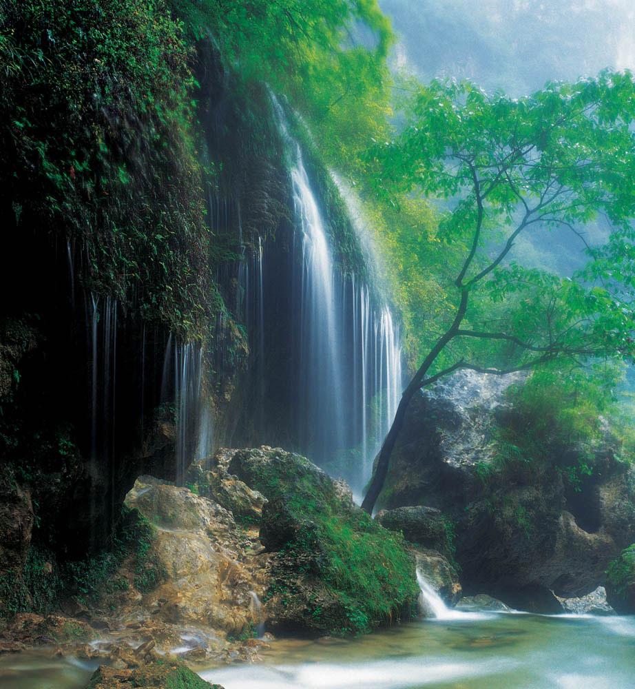 壁纸 风景 旅游 瀑布 山水 桌面 922_1000