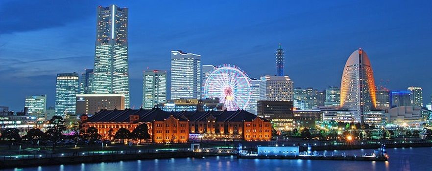 【自由探访 21世纪港未来  landmark tower置地广场 横滨地标塔 横滨